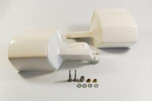 Handprotektoren weiß für R 80 G/S und R 100/80 GS 88-90