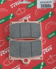 LUCAS Sinter Bremsbeläge MCB 540SV für 4-Kolbenbremszange