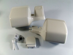 Handprotektoren weiss für R 100/80 GS PD Basic ab bj. 90