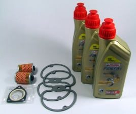 Maintenance package BMW 2 valve 7.500km Castrol with oil cooler