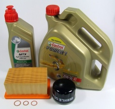 Maintenance package BMW R 1200 GS 20.000km Castrol