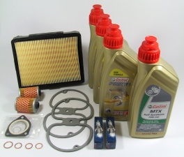 Maintenance package BMW 2 valve 25.000km Castrol with oil cooler