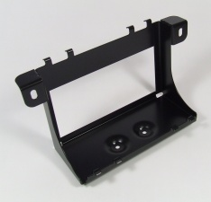 Batteriekasten Edelstahl schwarz kunststoffbeschichtet R80G/S, R80ST, R45, R65 und R65GS