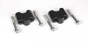 Lenkererhöhung 25 mm schwarz f. 100/80GS,1100,1150