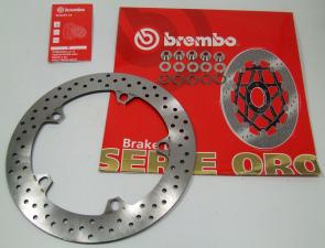BREMBO Bremsscheibe vorne mit Floater ORO 168B407D6