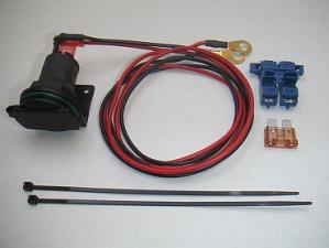 Steckdose 12 Volt für Zusatzgeräte