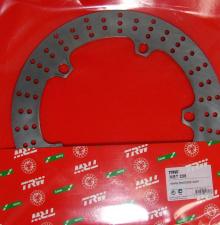 Brake disk Lucas MST 238 front