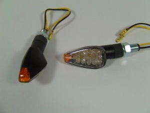 LED-Blinker PEAK, schwarz