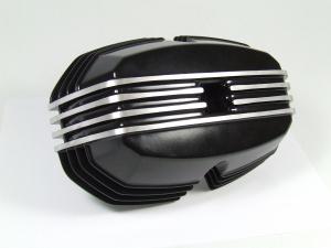 Ventildeckel, schwarz, links für alle BMW 2V Boxer ab 1970
