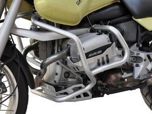 Sturzbügelsatz silber für BMW R 1100 + 850 GS