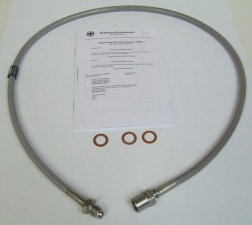 Stahlflex Bremsleitung für BMW R 80 G/S Bj 81-88