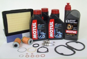 Maintenance package BMW 2 valve 25.000km Motul with oil cooler