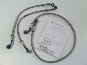 Stahlflex Bremsleitung vorne mit ABE für BMW R 850 1100 GS
