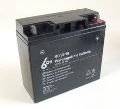 Motorrad Gel Batterie 6-On