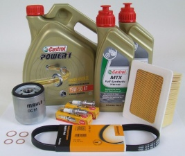 Maintenance package BMW R 1100 S 40.000km Castrol 15W-50