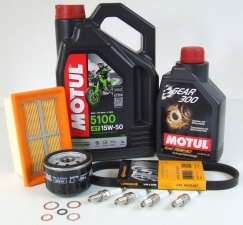 Maintenance package BMW R 1200 GS / GS Adv 40.000km 2010-2013 Motul