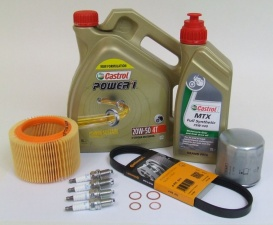 Maintenance package BMW R 1200 C/CL/Montauk 40.000km Castrol