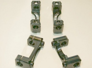 Einteilige Kipphebelböcke aus Stahl ( 4 Stück) für BMW 2V Boxer a 10/75
