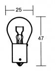 Indicator bulb 21 Watt