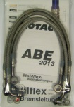 Stahlflex-Bremsleitung mit ABE für BMW R 850 1100 mit ABS