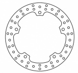 Brake disk Lucas MST 331 rear R 1100 850 and 1150 GS