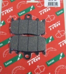 BMW R 1150 GS R brake pads front LUCAS MCB748 organic, from 01-03