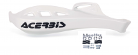 Acerbis hand guards white with mounting kit for Handlebar Ǿ 22.0 mm and 28.6 mm Ǿ