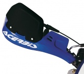 Spoiler for acerbis hand gards, black,Ct