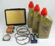 Maintenance package BMW 2 valve 15.000km Castrol with oil cooler