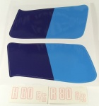 Decal set for R 80 G/S fuel tank and side cover
