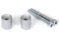 Lenkererhöhung, 20 mm, silber für F 800 und  F 650 GS -08