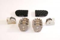 Edelstahl Fußrasten Kit R 850/1100GS/1150GS, Adv. und R 1200 GS (2004-2012)