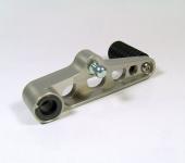 Schalthebel Aluminium kurz mit Rolle für niedrige Fußrasten