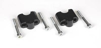 Handlebar raiser 25 mm black for 100/80GS/F650 GS,ST, Dakar/1100,1150 GS