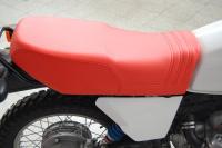 Doppelsitzbank für BMW R 80 G/S und die R 80 GS Basic, rot