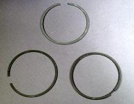 Piston ring set for 1000 cc Nikasil cylinder