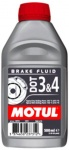 MOTUL DOT 3 & 4 BRAKE FLUID / 0,5 Liter