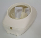 Housing half complett white for  R65GS R80G/S R80/100GS
