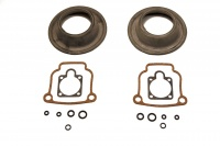 Gasket set with membrane for both 40 mm Bing carburators of the BMW 2v boxer models