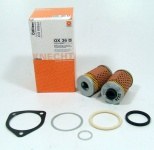 Oil filter Mahle OX36D for 2 Valve Flat Twin with oil cooler