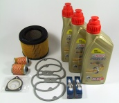 Maintenance package BMW 2 valve 15.000km with Castrol oil cooler air filter round