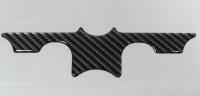 Gabelbrückenaufkleber Carbon für BMW R1100GS / R1150GS