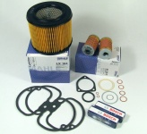 Maintenance package BMW 2 valve engine with oil cooler 25.000km round air filter
