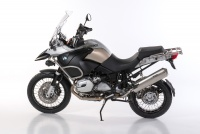 BOS Hyperfox Slip-in, Edelstahl poliert BMW R 1200 GS, 04-09
