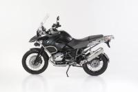 BOS Hyperfox Slip-in, Edelstahl poliert BMW R 1200 GS, 2010-2012