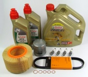 Maintenance package BMW R 1150 GS 40.000km dual ignition Castrol