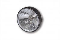 7 Zoll Scheinwerfer RENO 2 mit LED-Ring, schwarz, klares Glas