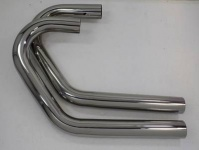 Stainless steel exhaust pipes 38 mm for BMW R 80 / 100 GS Paralever