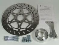 Bremsscheiben Kit 320 mm mit Bremssatteladapter und ABE für BMW R 80 ST