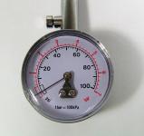 Metall Reifen-Luftdruckprüfer